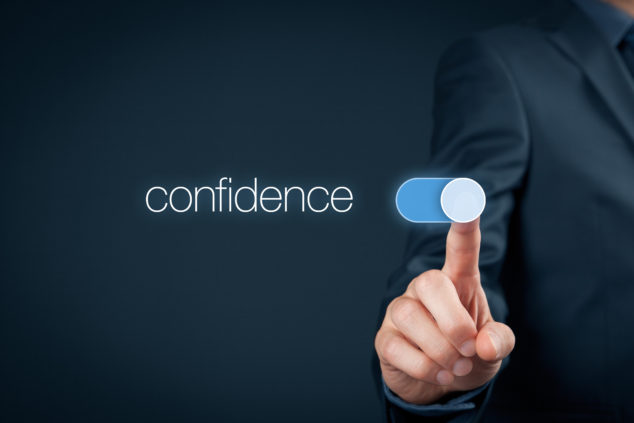 Confidence business man