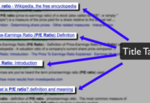 How to correctly optimize the Title tag